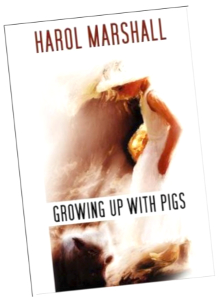 Growing up with Pigs angled cover pic